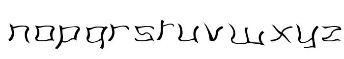 Martians spacewarped my dad Font LOWERCASE