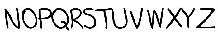 Martin Sans Font UPPERCASE