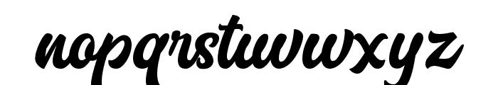 MarttabuckDEMO Font LOWERCASE
