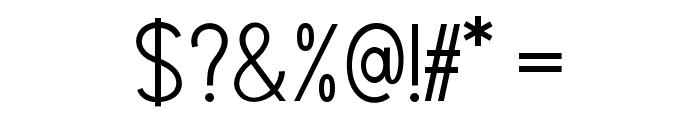 Marvelous Sans Demo Font OTHER CHARS
