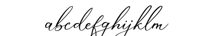 Marvelous Script Demo Font LOWERCASE