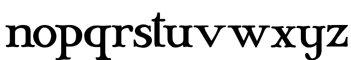 Mary Jane Antique Font LOWERCASE