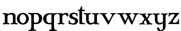 Mary Jane - Eastern Europe Font LOWERCASE