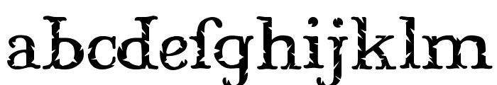 Mary Jane Meade Font LOWERCASE