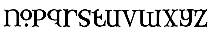 Mary Jane Tankard Font LOWERCASE