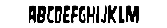 Masacre Digital Font UPPERCASE