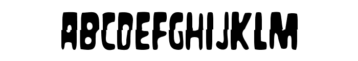 Masacre Digital Font LOWERCASE