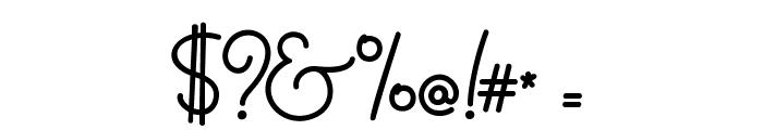 MasanaScript-1Propia Font OTHER CHARS