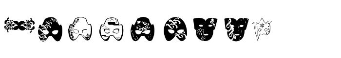 Mascaras de Veneza Font LOWERCASE