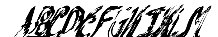 Mash Note Font UPPERCASE