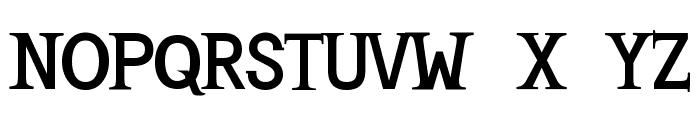 Mashburn .Regular TT Font UPPERCASE