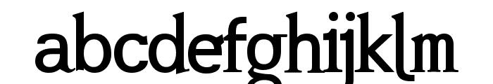 Mashburn .Regular TT Font LOWERCASE