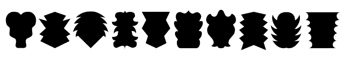 Maskalin Font OTHER CHARS