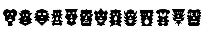 Maskalin Font UPPERCASE