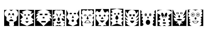 Maskalin Font LOWERCASE