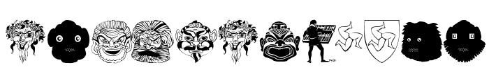 Maskenball04 Font OTHER CHARS