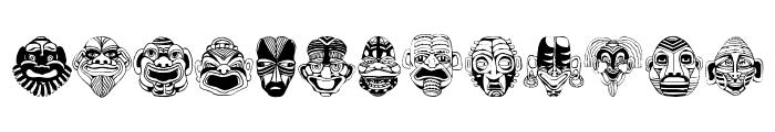 Maskenball04 Font LOWERCASE