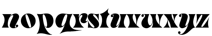 Masquerade Medium Font LOWERCASE
