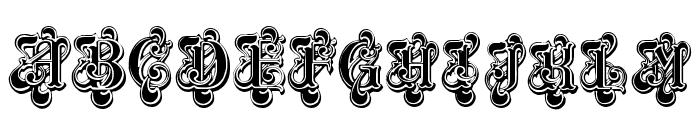 Masquerade Font UPPERCASE