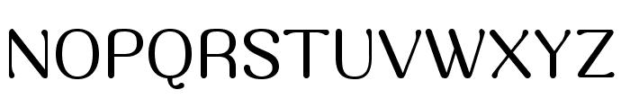 Massa Font UPPERCASE