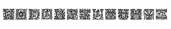 MasselleAM Font UPPERCASE