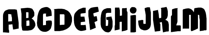 MassiveHeadache3 Font UPPERCASE
