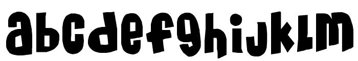 MassiveHeadache3 Font LOWERCASE