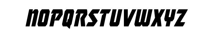Master Breaker Condensed Italic Font LOWERCASE
