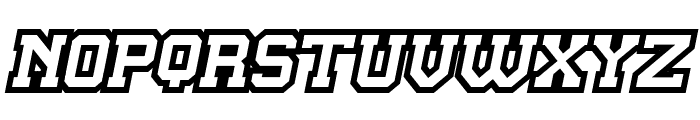 Master Droid Font UPPERCASE