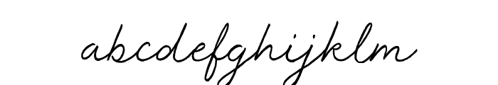 Master Works Font LOWERCASE