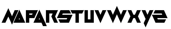 Masterblast Font LOWERCASE