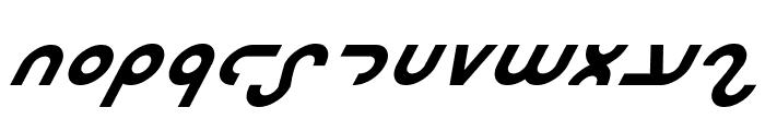 Masterdom Bold Italic Font UPPERCASE