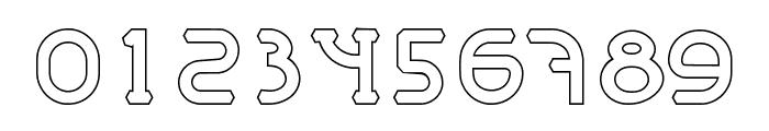 MastumHollow Font OTHER CHARS