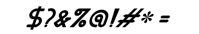 MastumItalic Font OTHER CHARS