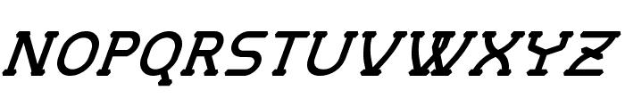 MastumItalic Font UPPERCASE