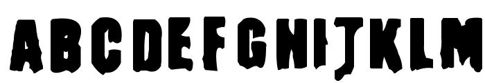 Masturbator Regular Font UPPERCASE