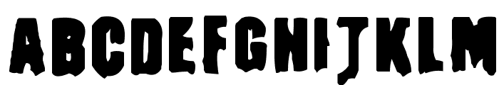 Masturbator Regular Font LOWERCASE