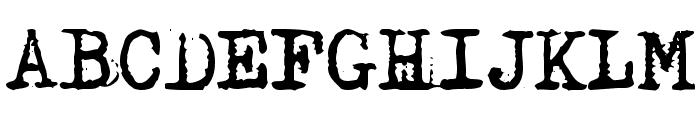 Maszyna Font UPPERCASE