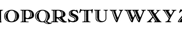Matador Font UPPERCASE