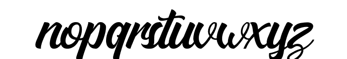 Matane Personal Use Only Script Font LOWERCASE