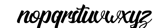 MatanePersonalUseOnly-Script Font LOWERCASE