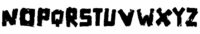 Matchbox Font UPPERCASE