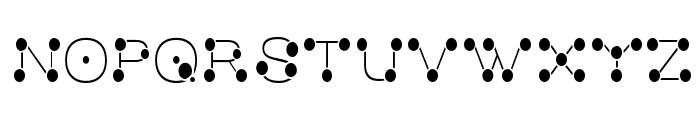 MatchstickSlim Font UPPERCASE