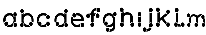 Matchstick Font LOWERCASE