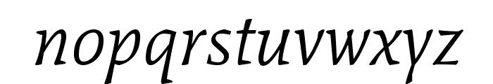 Mate-Italic Font LOWERCASE