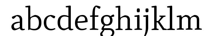Mate-Regular Font LOWERCASE