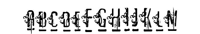 Matejo Font UPPERCASE