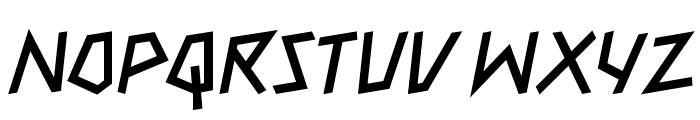 MateobyKemaL MateobyKemaL Font UPPERCASE