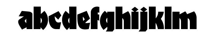 Materhorn NF Font LOWERCASE