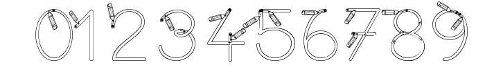 Maternellecolor creuse Font OTHER CHARS